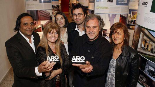 Margarita Trlin y Rubén Cabrera, premios ARQ, región NEA