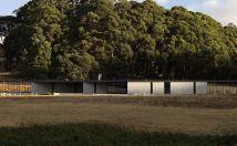 Kerstin Thompson Architects. Vivienda en Hanging Rock.