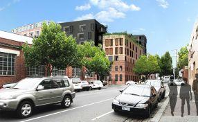 Kerstin Thompson Architects. Departamentos Fitzroy .