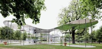 Kazuyo Sejima. SANAA. Pabellón de la Galería Serpentine. 2009