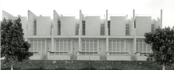 Atxu Amann, Andrés Cánovas, Nicolás Maruri, Temperaturas Extremas, 38 viviendas en el Alto del Cantal, Mojácar, 1987-1990