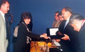 Cynthia Watmough, premio hexágono de oro