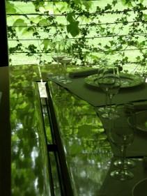 """Carme Pigem, RCR Arquitectes. Interior del restaurante """"Les Cols"""", Olot, Girona, 2002"""