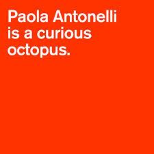 Paola Antonelli, twitter