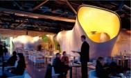 Jakob + MacFarlane, restaurante del Centro Pompidou en Paris, Georges