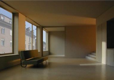 Zita Cotti. Residencial y de edificios comerciales Langstrasse, Zurich