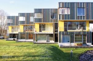 Siiri Vallner, Indrek Peil, Head Arhitektid OÜ, conjunto de viviendas adosadas, Tiskre, Estonia, 2005