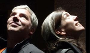Sandra Barclay y Jean Pierre Crousse