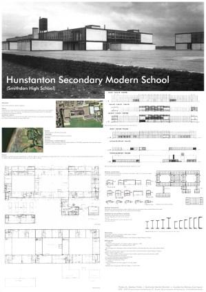Alison y Peter Smithson, Escuela de Hunstanton