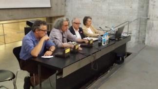 Josep Llinás, Francisco Alonso de Santos, José Luis López-Peláez y María Teresa Muñoz
