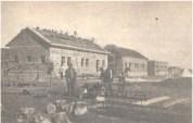 Leyla Asim Turgut, Akpinar-Ladik Köy Enstitüleri (Instituto rural), Ladik, Turquía, 1940 . Imagen de la construcción.