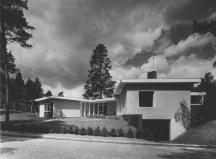 Han Schröder, casa Gaastra, en Zeist, 1959