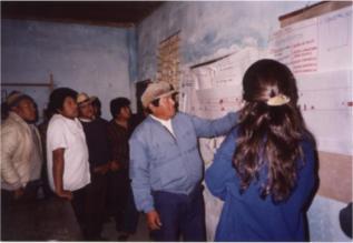 María Bernabela Pelli, Barrio Cacique Pelayo, 1993