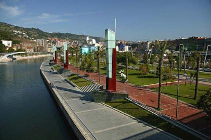 Diana Balmori, Master Plan de Abandoibarra, Bilbao