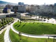 Diana Balmori, Parque de la Campa de los ingleses, Bilbao