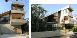 Masako Hayashi, Hayashi, Masada, Nakaraha, Círculo de diseño arquitectónico, Casa con gran tejado, Tokio