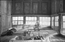 Cahide Tamer, divanhane (sala del diván) de la mansión de Amcazade Hüseyin Paşa, 1947