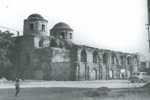 Cahide Tamer, mezquita Fenâri Îsâ antes de la intervención en 1959.