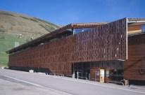 ISABEL HERAULD, YVES ARNOD, centro Cultural Deportivo y de Congresos, Los alpes, 2005.