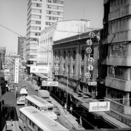 Luz Sobrino; Hotel Bio Bio, 1940. Foto de 1960.