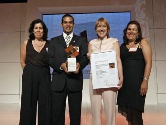 Arqui5, Entrega premios Holcim