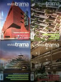 Evelia Peralta - Rolando Moya - Rómulo Moya - Revista Trama.
