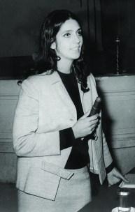 Evelia Peralta. Disertación en Tucumán, Argentina.