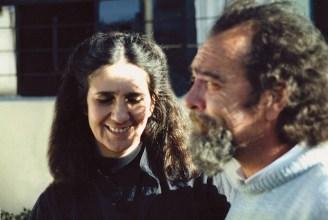 Evelia Peralta y Rolando Moya.