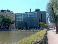 Kaija y Heiki Siren. Teatro Nacional- Extensión, Helsinki 1954.