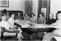 H. May Steinmesch. AWA Board Meeting circa 1950
