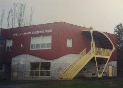 Pamela Webb. Marian Abrams children's wing, Portland, OR, 1994