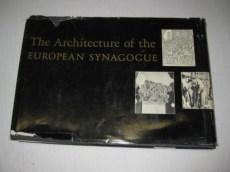 Rachel Berstein Wischenitzer. Publicación: The Architecture of the European Synagog.