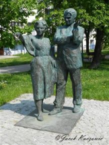 Hanna-Adamczewska Wejchert y Kazimierz Wejchert