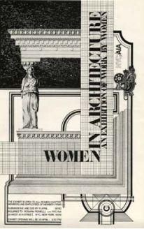 Rosaria Piomelli, Muestra Mujeres en arquitectura