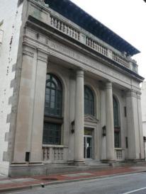 Henrietta Dozier. Federal Reserve Bank, Jacksonville 1923-1924.