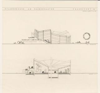 Helga Schmidt -Thomsen, proyecto para el Palmengarten de Frankfurt