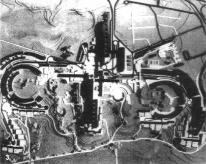 Luisa Anversa, Carlo Aymonino_Piano di Zona para la realización de un barrio residencial para 10000 habitantes en Tor de' Cenci_Roma, Italia_1964