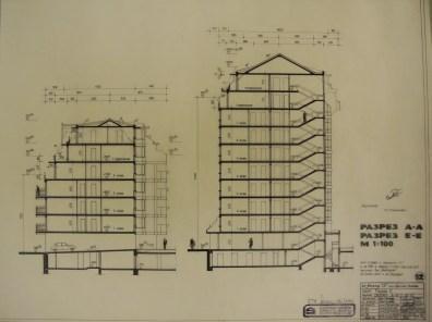 Tsvetana Ninova. Edificio de vivienda colectiva Perla II, Sofía, Bulgaria, 1994-1998