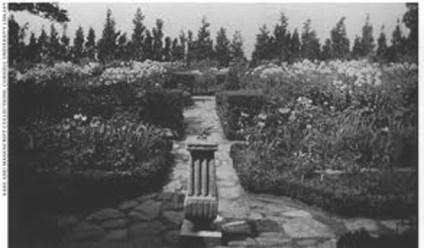 Ellen Biddle Shipman, Warren garden, 1912.