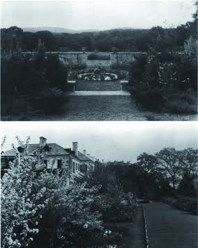 Ellen Biddle Shipman, McGinley garden, 1932.