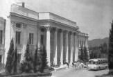 Tamara Davydovna Katsenelenbogen. Casa de reposo/ sanatorio en Nueva Sochi (1955). Entrada principal.