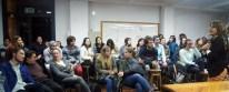 Angela Perdomo. Estudiantes del Taller Perdomo. Workshop 5x5, Jornada final, Octubre 2015.