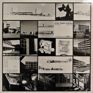 """Elise Sundt. Panel de la Exposición """"Mujeres arquitectas en Austria"""