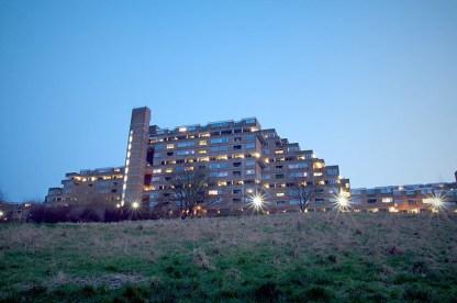 Kate Macintosh. Vivienda colectiva Dawson's Heights, Dulwich, 1964-72.
