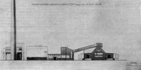 NINA VOROTYNTSEVA Alzado Planta de cemento-Georgia_1929