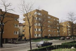 Ute Weström y Winnetou Kampmann. Departamentos en Homburger Strasse, Berlín.
