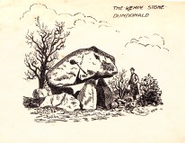 Florence Fulton Hobson. Dibujo piedra kempe