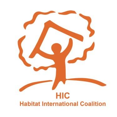 Logo HIC - Habitat International Coalition