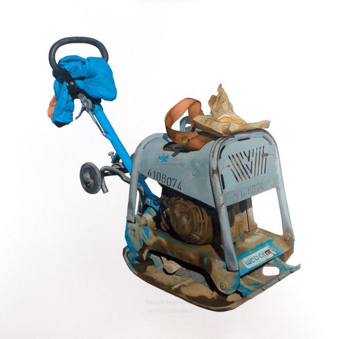 compactadora manual con sopaipilla