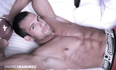 Model David Chamero from Andres Ramirez in Aussiebum